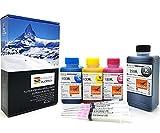 Blue Swan 550ML Recarga de Recarga para Canon PG540CL541PG-540CL-541PIXMA MG3550MG4250mg3650MX535