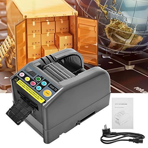 TTLIFE Dispensador de cinta automática Zcut-10 Multifunción 6-60 mm Cortar 1/2 rollos Dispensador de cinta adecuado para cintas de hasta 300 mm de diámetro