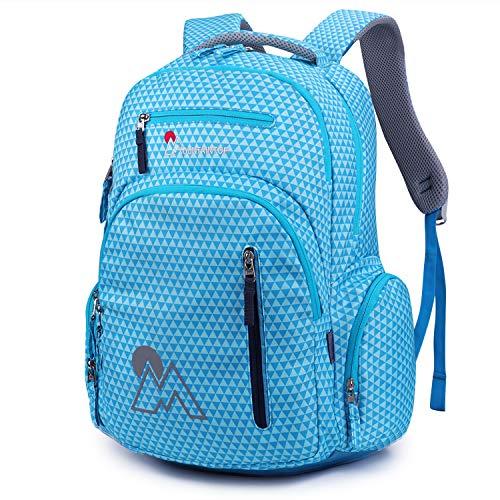 Mountaintop 30L Schulrucksäcke Schulrucksack Daypack Backpack Multifunktion für Jungen Mädchen Teenager Jugendliche