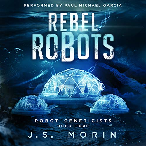 Rebel Robots audiobook cover art