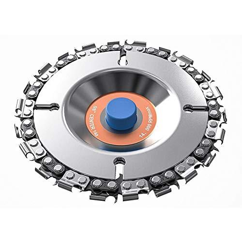 Motosierra Corte Disco, Accesorio de Repuesto de Amoladora, Herramienta de Corte de Hoja de Sierra Circularpara 4 pulgadas para Corte Cuenco Interiores/Madera/Piedra/Metal