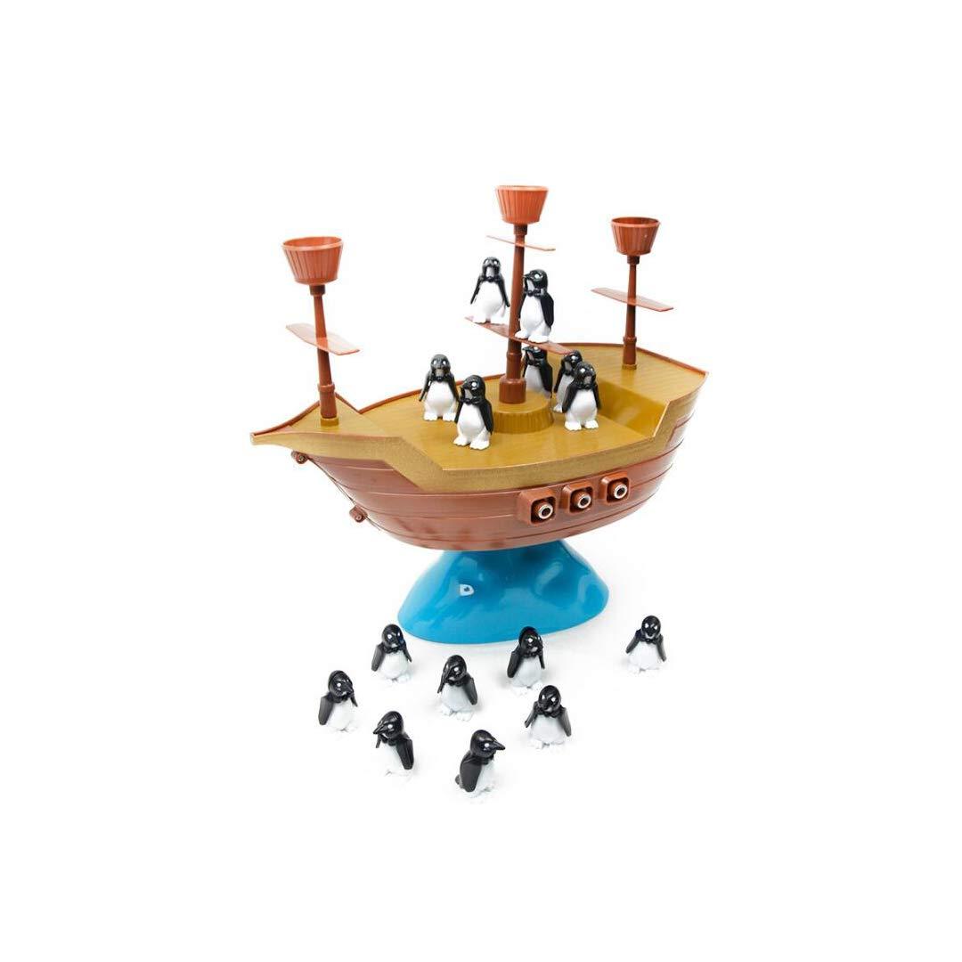 SXZHSM Juguete Balancín Pingüino Barco Pirata Juego De Mesa Inteligencia Juguete De Ocio Interactivo Juguete: Amazon.es: Hogar