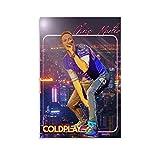 YUANZHIG Chris Martin Coldplay Gitarristen Musiker Poster