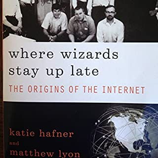 Where Wizards Stay Up Late audiobook cover art