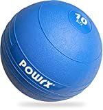 POWRX - Slam Ball Palla Medica 3-20 kg - (10 kg/Blu)