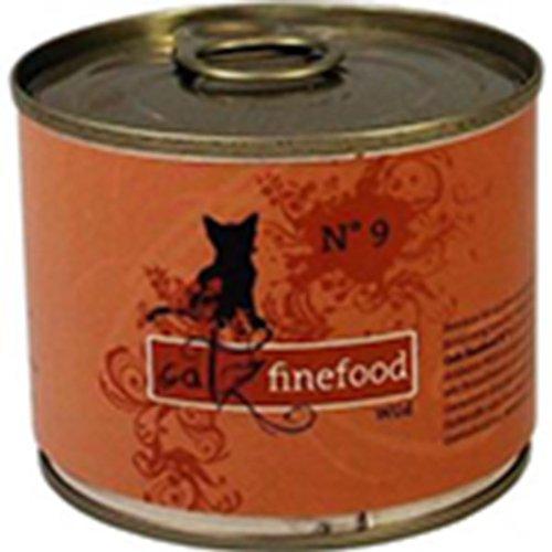 Lot de 24 Catz finefood No. 9 sauvages 200 g