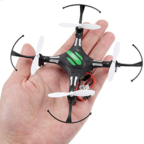 Malloom JJRC H8 Mini 2.4G 4CH 6 Axis RTF RC Quadcopter Led Luces de la Noche Modo CF