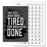 Gym Tagebuch, Gewicht Training Diary Log Book, A5Tägliche Workout Diary,-LOG 104