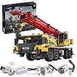 Bybo CADA C61081W Technik Kran Bausteine, Fernbedienung Technik Kran-LKW, Mobiler Kran Baufahrzeuge, kompatibel mit Lego Technic -1831 Teile