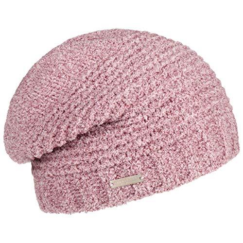 Seeberger Tajana Soft Oversize Beanie Damenmütze Strickmütze Long (One Size - rosa-meliert)