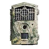 ScoutGuard Trail Camera, 30MP 1080P Hunting Game Camera with Night Vision Waterproof 2' LCD Scouting Security Camera for Wildlife Monitoring 850nm Low Glow IR LEDs Up to 100ft Detection Range