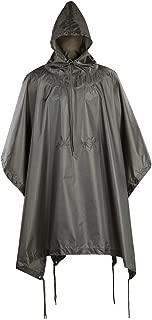 M-Tac Poncho Mens Military Army Raincoat Ripstop Waterproof Rain Cover