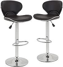 Best adjustable height swivel bar stools Reviews
