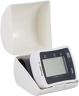 Monitor de Presión Arterial - Brazalete Ajustable con Detección de Pulso de Frecuencia Cardíaca para Uso Doméstico - Pantalla LCD Digital, Diseño Liviano - Máquina Automática de Presión Arterial