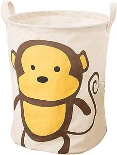 MJY Paniers à linge multi couleurs grand panier de rangement jouets pour enfants paniers à linge vêtements sales articles ...