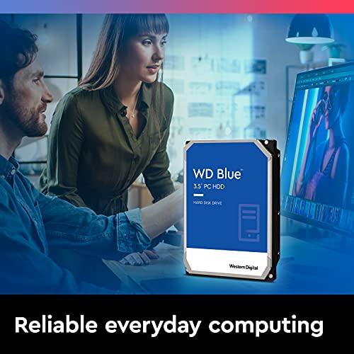 WD Blue - Disco duro para ordenadores de sobremesa de 4 TB (5400 rpm, SATA a 6 Gb/s, 64 MB de caché, 3,5') azul