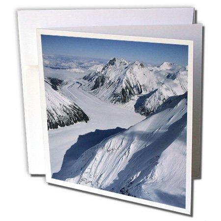 Peters Glacier, Denali National Park. Alaska, USA–Grußkarten, 15,2x 15,2cm, Set 12(GC 141744_ 2)