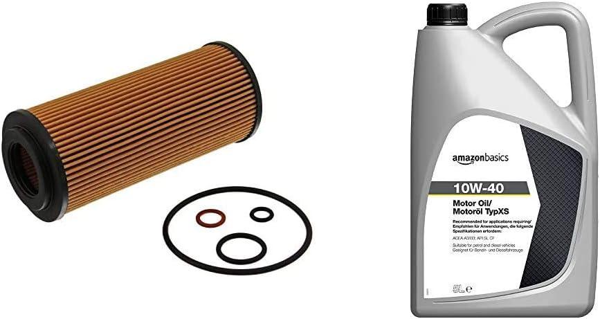 RENAULT febi bilstein 27167 filtro olio con anelli tenuta