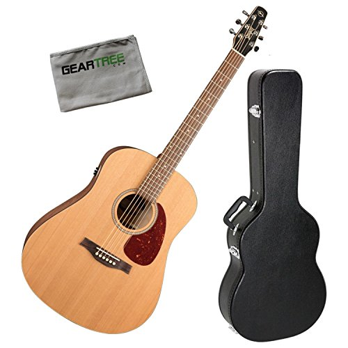 Seagull 046416 S6 Original SLIM QIT Acoustic-Electric Guitar Bundle
