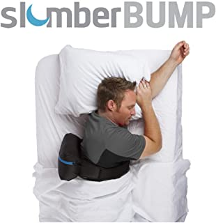 SlumberBump | Positional Sleep Therapy Belt | Designed for Long-Term Snoring and Sleep-Disordered Breathing Relief | Train Yourself to Stop Snoring | Featuring Improved Bladder | Large