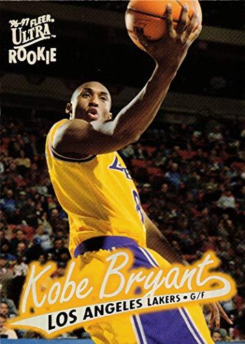 1996-97 Fleer Ultra Basketball #52 Kobe Bryant Rookie Card
