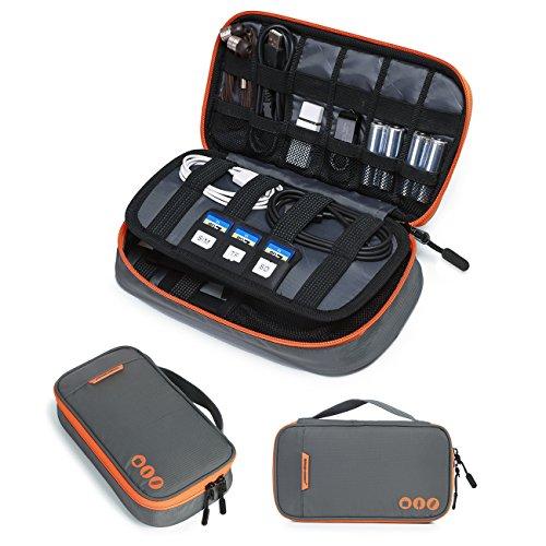BAGSMART - Estuche organizador de cable grueso para accesorios electrónicos de viaje