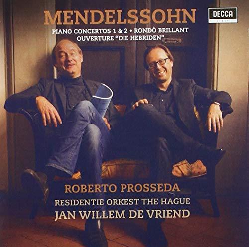 Roberto Prosseda - Mendelssohn: Piano Concertos Nos 1