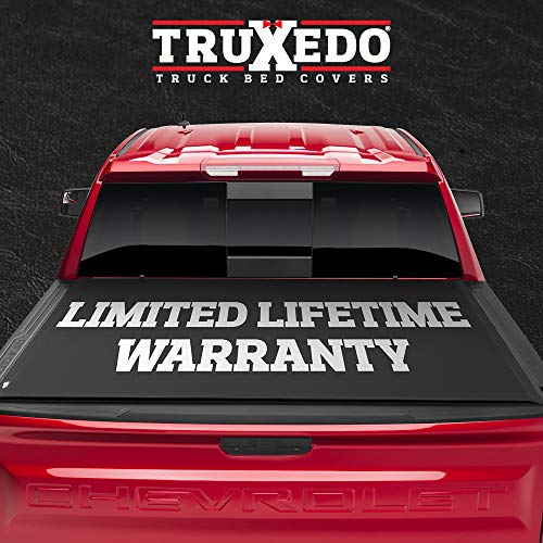 TruXedo Lo Pro Soft Roll Up Truck Bed Tonneau Cover   584901   Fits 2019 - 2021 Dodge Ram 1500 w/RamBox, w/ or w/out Multi-Function (Split) Tailgate 5' 7