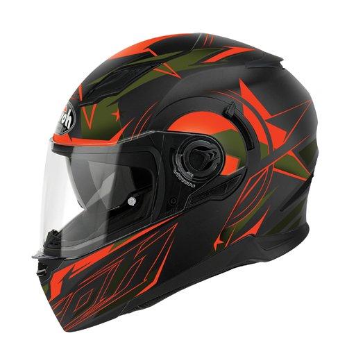 Airoh Helme Movement Mesh, Orange, Größe : XL