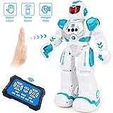 Auney Jouets robotiques pour Les Enfants, Les Robots de contrôle à Distance programmables intelligents, Robot Intelligent avec capteur Infrarouge RC pour Les garçons (Vert)