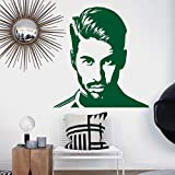 fdgdfgd Art Design Vinyle Décoration de La Maison Football Sergio Ramos Étoile Wall Sticker Mobile Décoration De La Maison Joueur De Football Sticker Mural