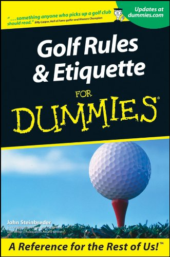 Image OfGolf Rules And Etiquette For Dummies (English Edition)