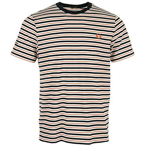 Fred Perry Fine Stripe T-Shirt, T-Shirt - XL
