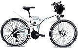Bici electrica, Bicicleta plegable eléctrico for adultos urbanos de cercanías E-bici Ciudad de bicicletas 1000w 48v 13Ah del motor y la batería de litio velocidad máxima de 35 km / h Capacidad de carg
