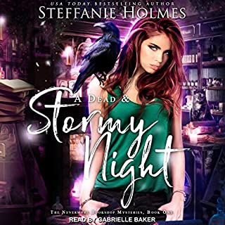 A Dead and Stormy Night cover art