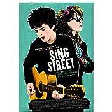 Sing Street (2016) carteles e impresiones de películas lienzo arte pared decoración del hogar lienzo pintura imágenes impresión-50x70 cm Sin marco