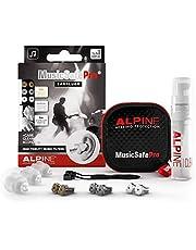 Alpine MusicSafe Pro Tapones para los oídos para músicos - Mejora tu experiencia musical con tres filtros intercambiables - Protección auditiva Hipoalergénico - Tapones reutilizables - Transparente