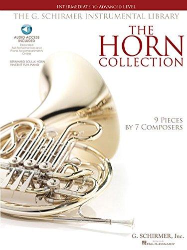 The Horn Collection - Intermediate/Advanced: Noten, CD für Horn, Klavier: Intermediate to Advanced Level / G. Schirmer Instrumental Library