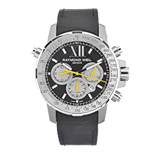 Raymond Weil Men's 7800-Tir-00207 Automatic Titanium Black Dial Chronograph Watch Sale and Order Now!! and review