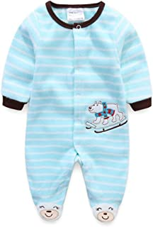 Mri-le1 Baby Boy Long Sleeved Coveralls Denmark USA Flag Heart Baby Rompers