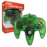 Old Skool Classic Wired Controller Joystick for Nintendo 64 N64 Game System - Jungle Green
