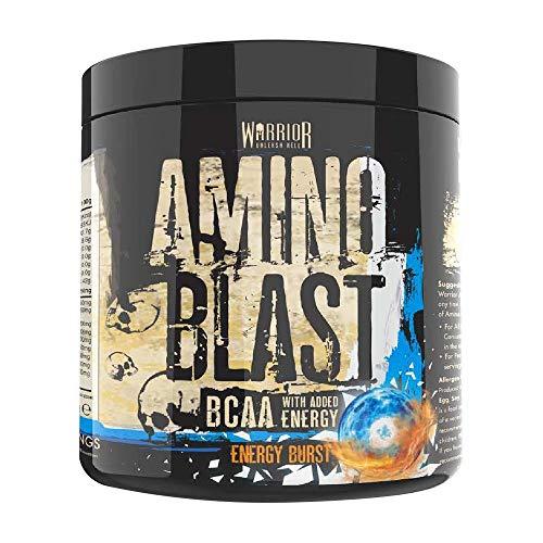 Warrior Supplements Warrior Amino Blast BCAA Powder Amino Acids 270g - Energy Burst 30 Servings, P33877