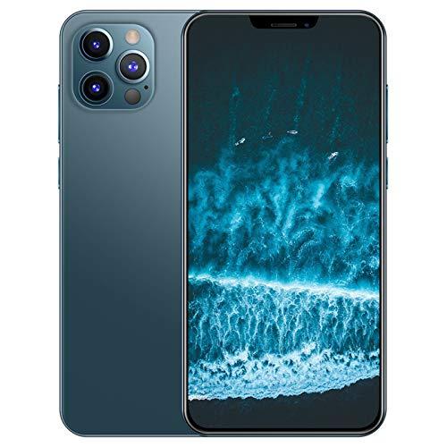 PEARFALL 6,7-Zoll-5G-HD-Waterdrop-Vollbild-Handy Dual-SIM Hohe Kapazität Langer Standby. Outdoor-Smartphone Mit Gesichtserkennung WiFi + BT + FM + GPS,Grün