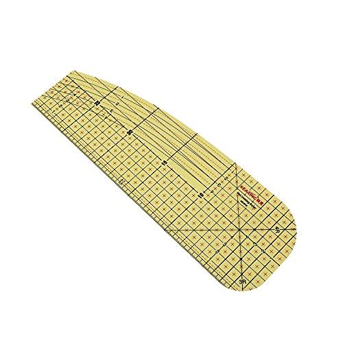 LITOSM Reglas Patchwork Ráfaga de medición de Planchado en Caliente de 20/30 cm Herramientas de Remiendo Resistente al Calor para la fabricación de Ropa Bricolaje Suministros de Costura a Medida.