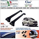Italfodere Barre da Tetto Ford ECOSPORT Portatutto Portapacchi GEV 9200+9267...