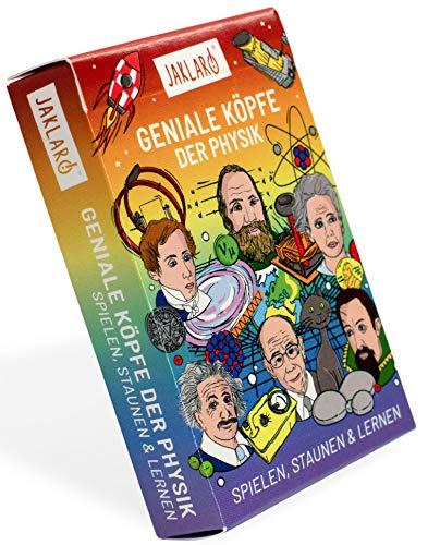 JAKLARO! Geniale Köpfe der Physik, das schlaue Kartenspiel für die ganze Familie und alle Physik-Fans!