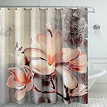 Daniel s Bath Lily Fancy Bath Room Shower Curtain