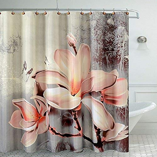 Daniel's Bath Lily Fancy Bath Room Shower Curtain