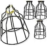 Newhouse Lighting WLG1B-4 Lamp Guard, 4-Pack, Black...