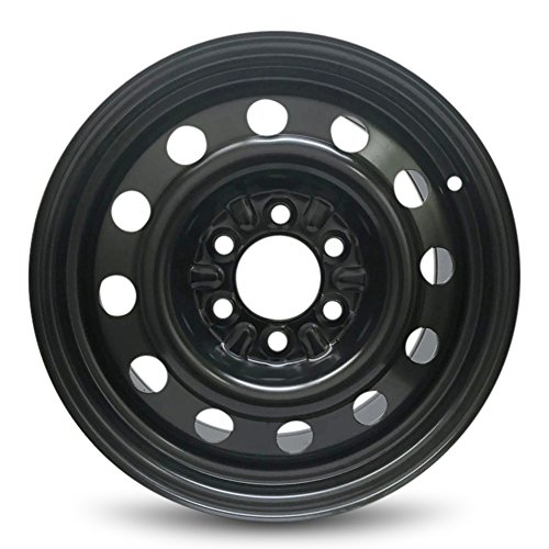 Road Ready Car Wheel For 04-19 Ford F150 04-14 Expedition 04-13 Navigator 17 Inch 6 Lug Steel Rim Fits R17 Tire - Exact OEM Replacement - Full-Size Spare